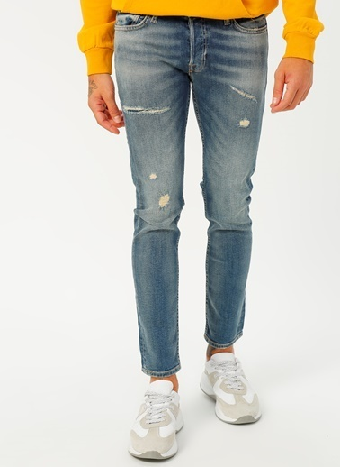 Jack & Jones Jack & Jones 12182692 Denim Pantolon Renksiz